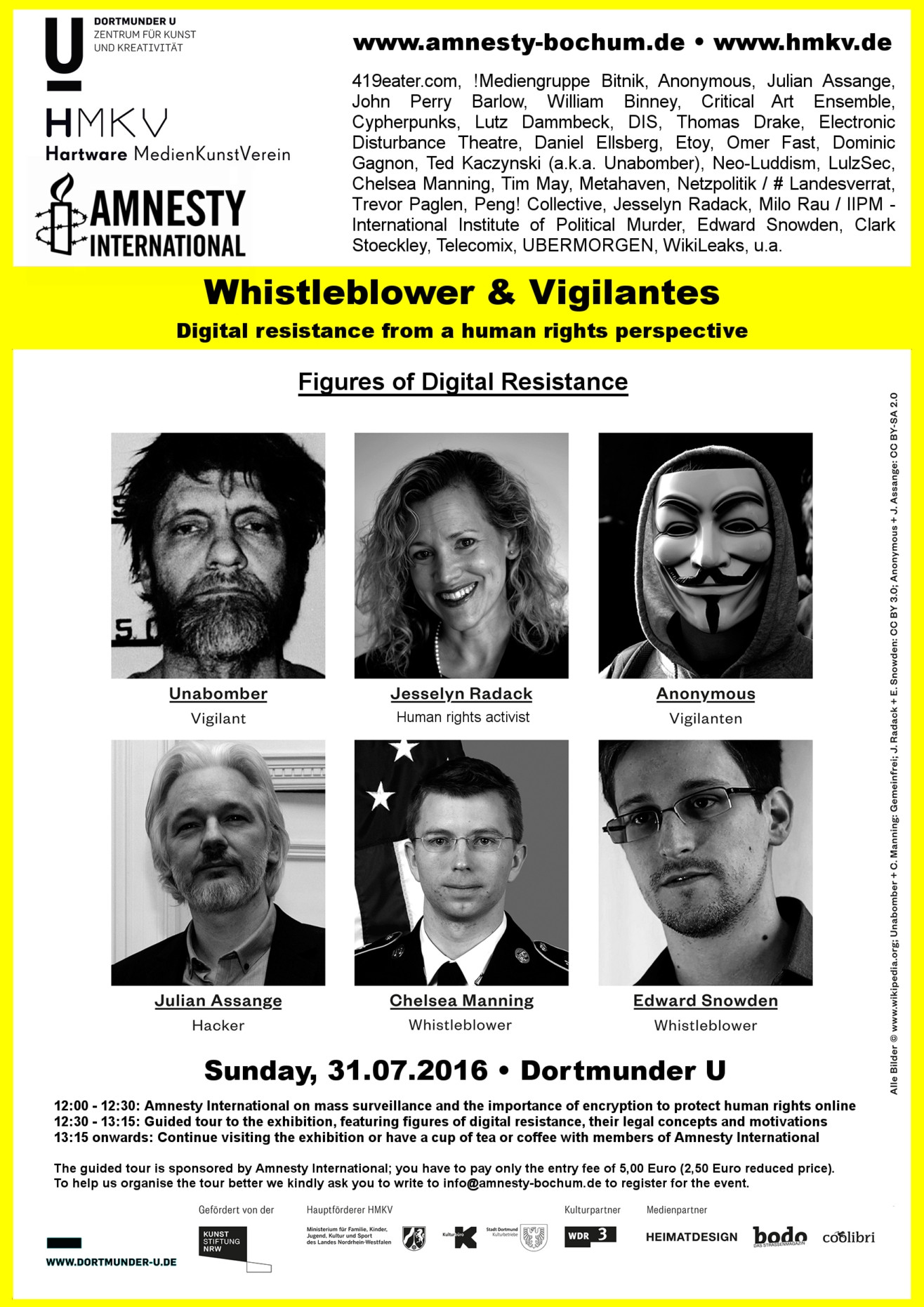 Whistleblowers & Vigilantes – Digital resistance from a human rights perspective